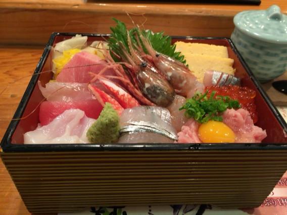 幸寿司海鮮丼