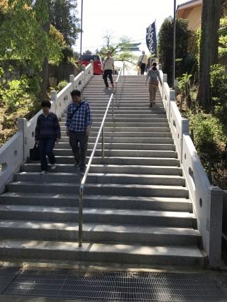 金乗院階段
