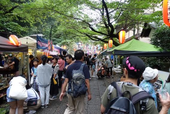 神明社七夕祭り